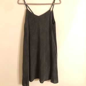 Gray Slip Dress